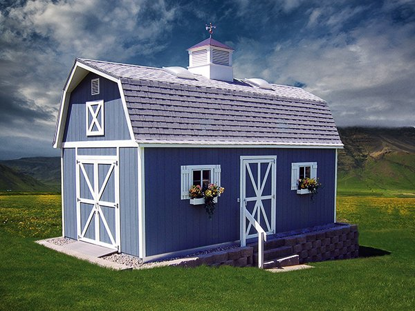 Gallery tuff shed for Tuff shed dog house