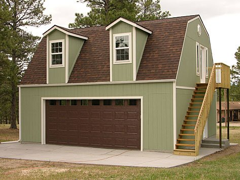 Home tuff shed for Garage kits with living quarters