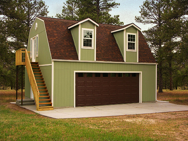 Tuff shed gallery for Custom garages with living quarters