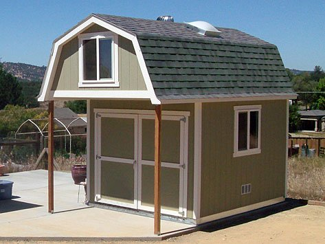 Premier pro barn weekender tuff shed for Tuff sheds