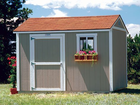 Premier Tall Ranch Tuff Shed