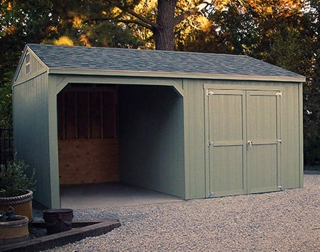 Used loafing shed for sale