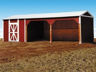 Tuff Shed Loafing Shed Tuff Shed