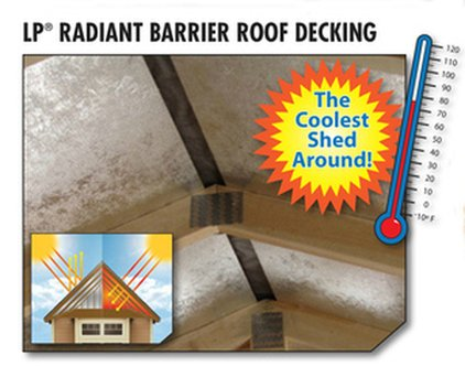 Radiant Barrier Siding And Roof Decking