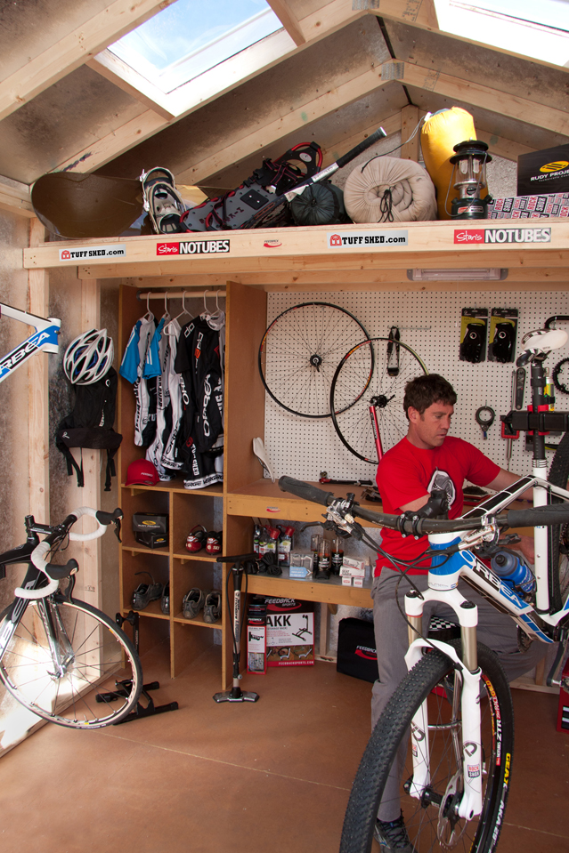 Made in colorado sports equipment and clothing tuff shed - Small space bike storage decoration ...