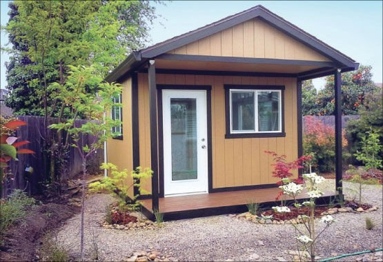 Rosie On The House: Backyard Storage Sheds Can Provide Nice Touch