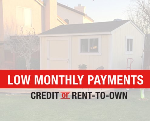 Introducing Rent To Own with Tuff Shed Tuff Shed