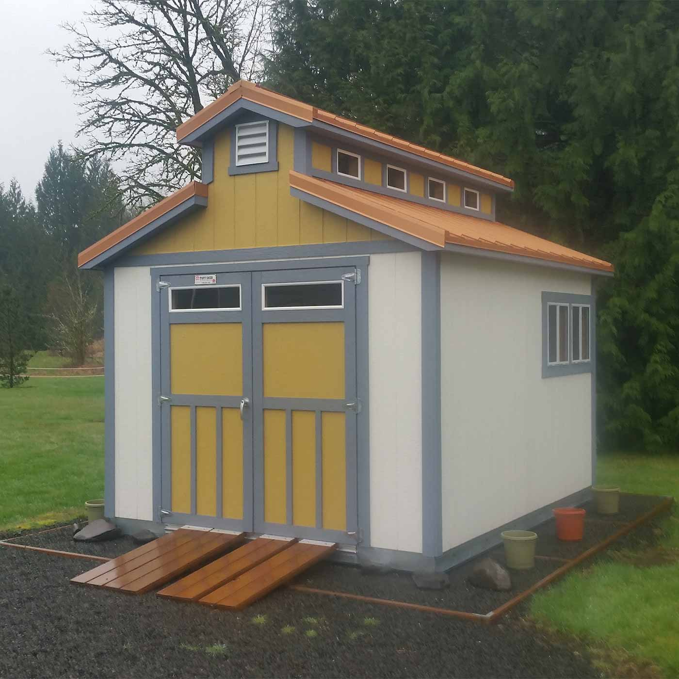 Storage sheds and buildings custom build options tuff shed for Tuff sheds