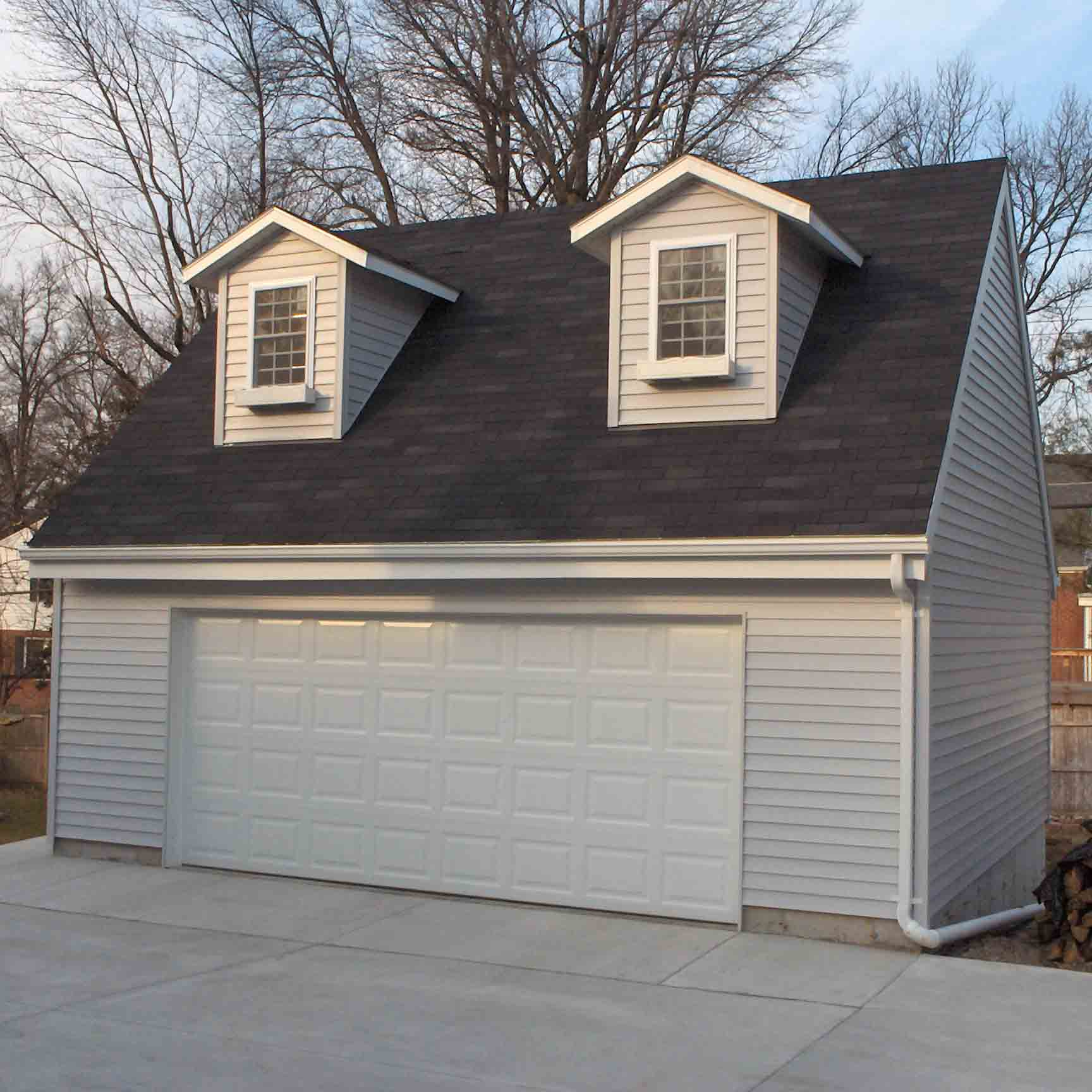 Modular or stick built garage for Cost to build a garage st louis