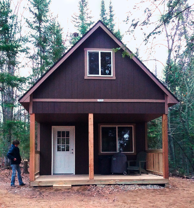 June 2015 Building Of The Month on 16x24 Cabin Floor Plans