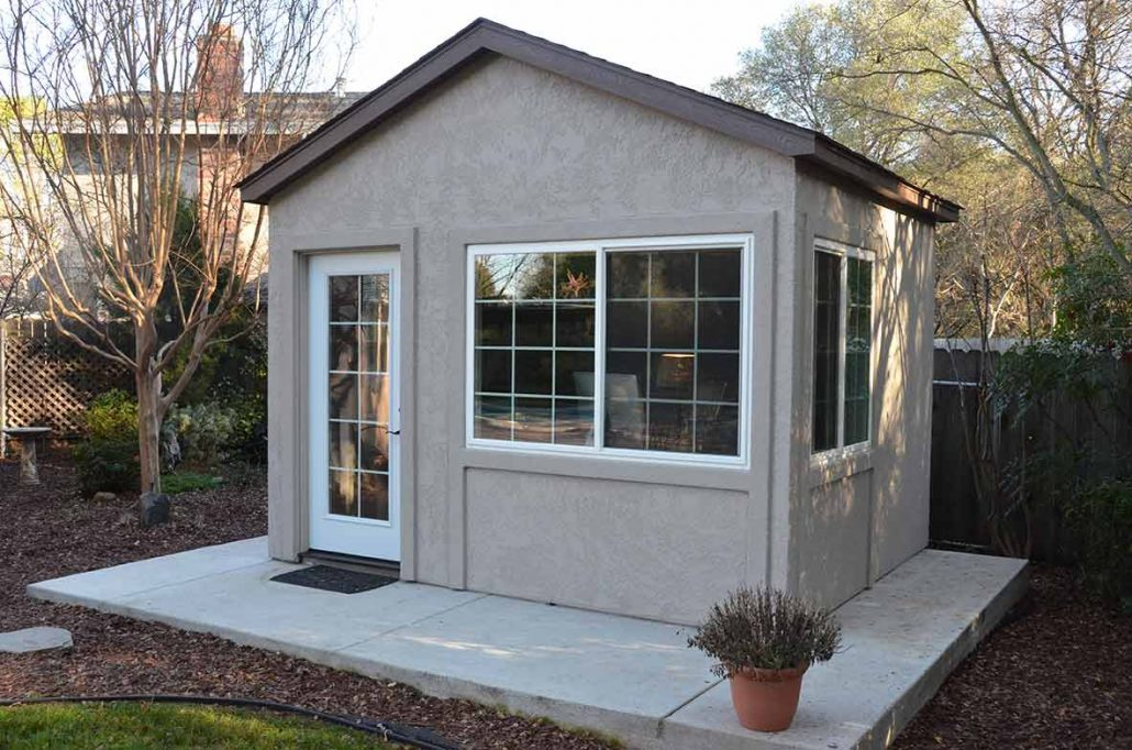 Down to Business With This Backyard Office - Tuff Shed