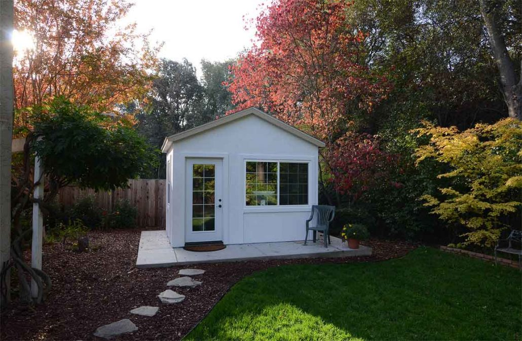 down to business with this backyard office backyard office shed