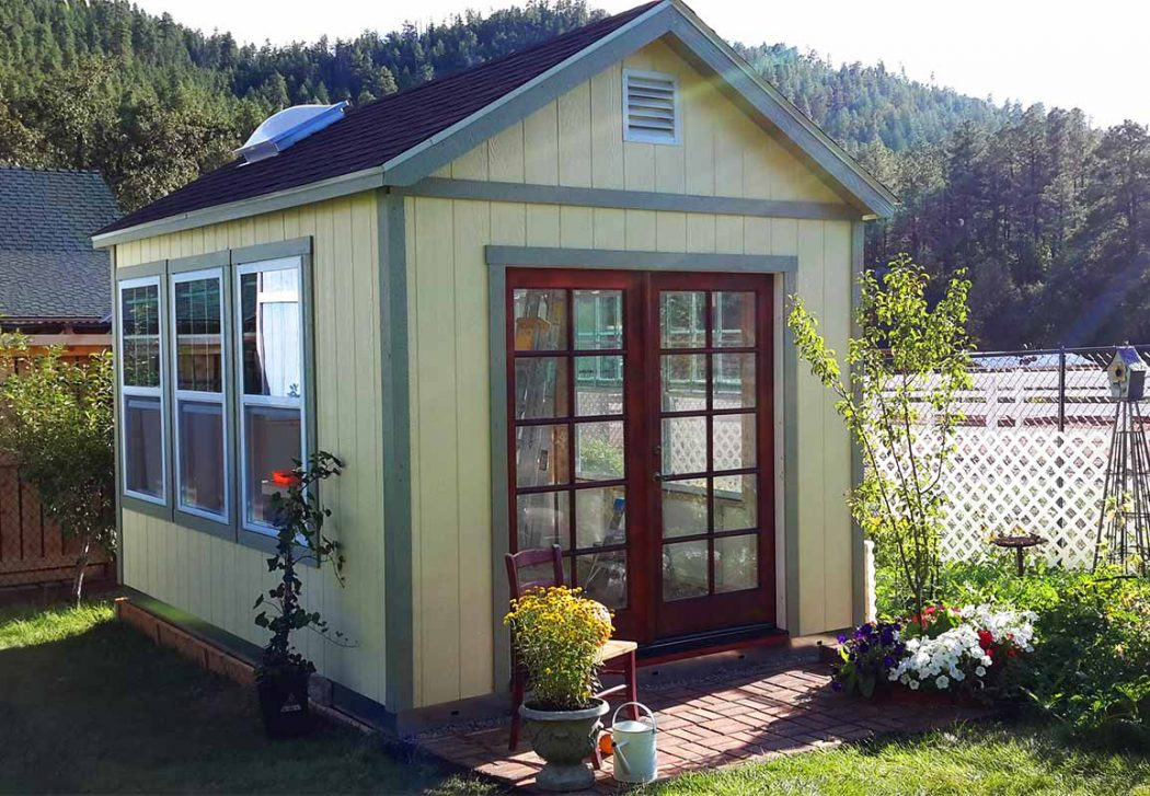 Her Country French Garden Getaway Tuff Shed