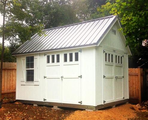 A Custom Tuff Shed Building