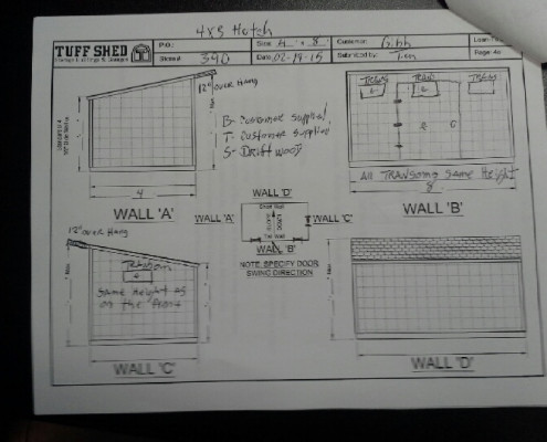 Preliminary Blueprints