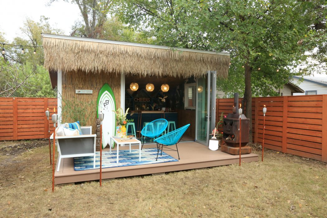 The Kickoff Party Proved That Islands Or Tiki Sheds Are Only Place To Excuse Us While We Grab Our Grass Skirts