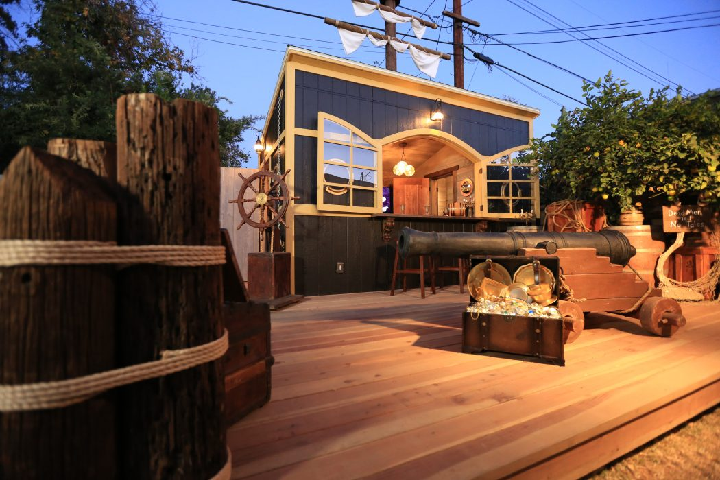 Her New Tuff Shed Pro Studio Was The Perfect Starting Point For An Outdoor  Living Space That ...