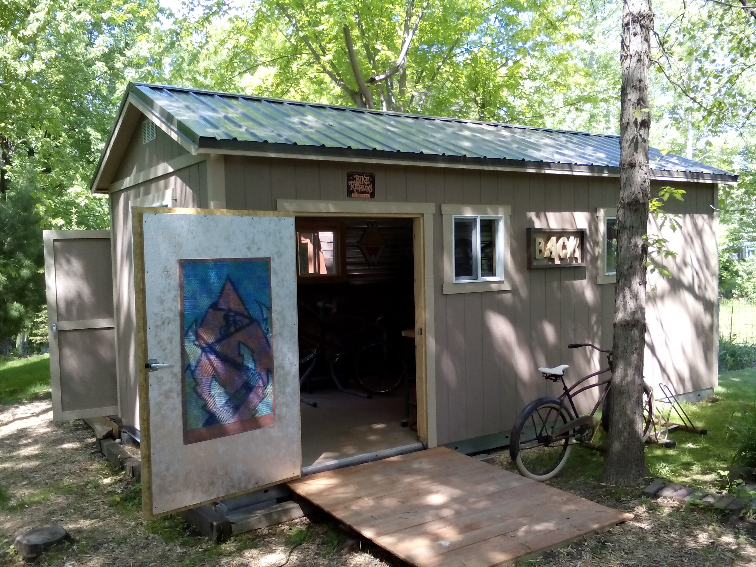 An above average hobby shed tuff shed for Small portable shed