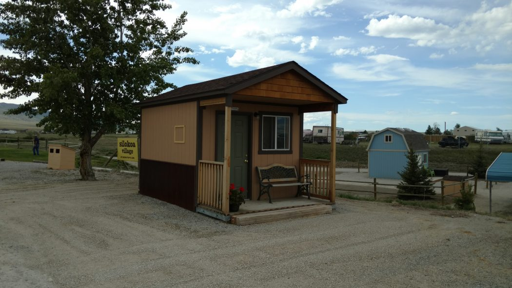 Tuff Shed Takes Over The Campground
