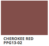 Cherokee Red PPG