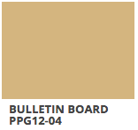 Bulletin Board PPG