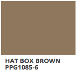 Hat Box Brown PPG