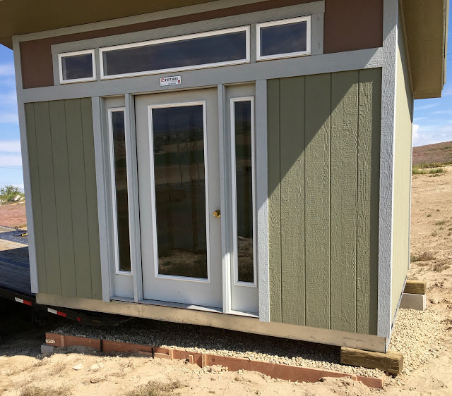 the solar studio tuff shed