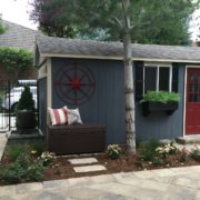 The new Tuff Shed building fits right in.