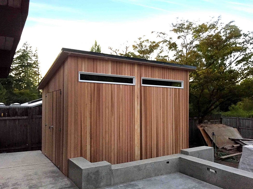 A modern masterpiece tuff shed for Shed house