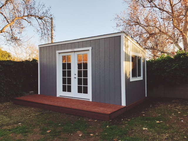The ultimate editing suite tuff shed for Studio shed prices