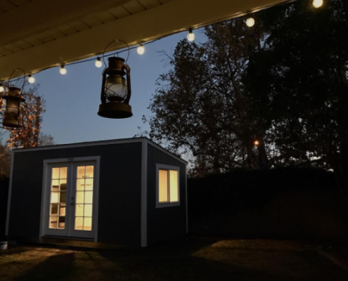 The Ultimate Editing Suite Tuff Shed