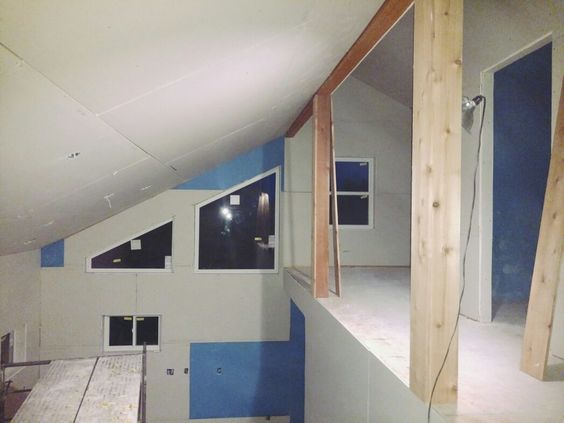 The Lowry's begin work on the interior of the cabin.