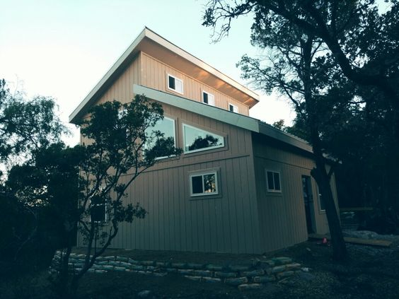 a yellowstone in the heart of texas tuff shed