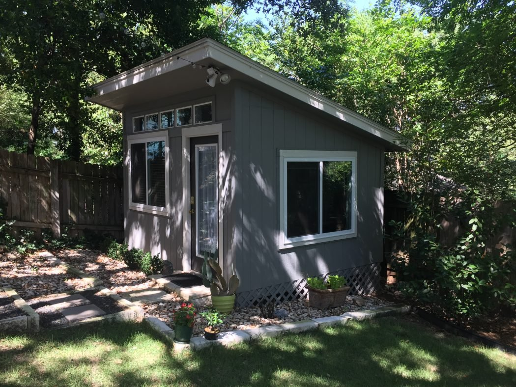 Shed Pictures Design: An Enviable Office