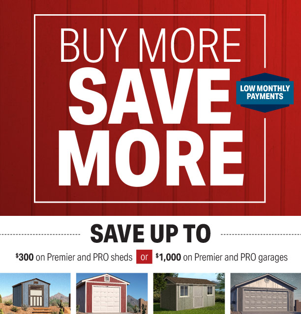 Special Offers - Tuff Shed