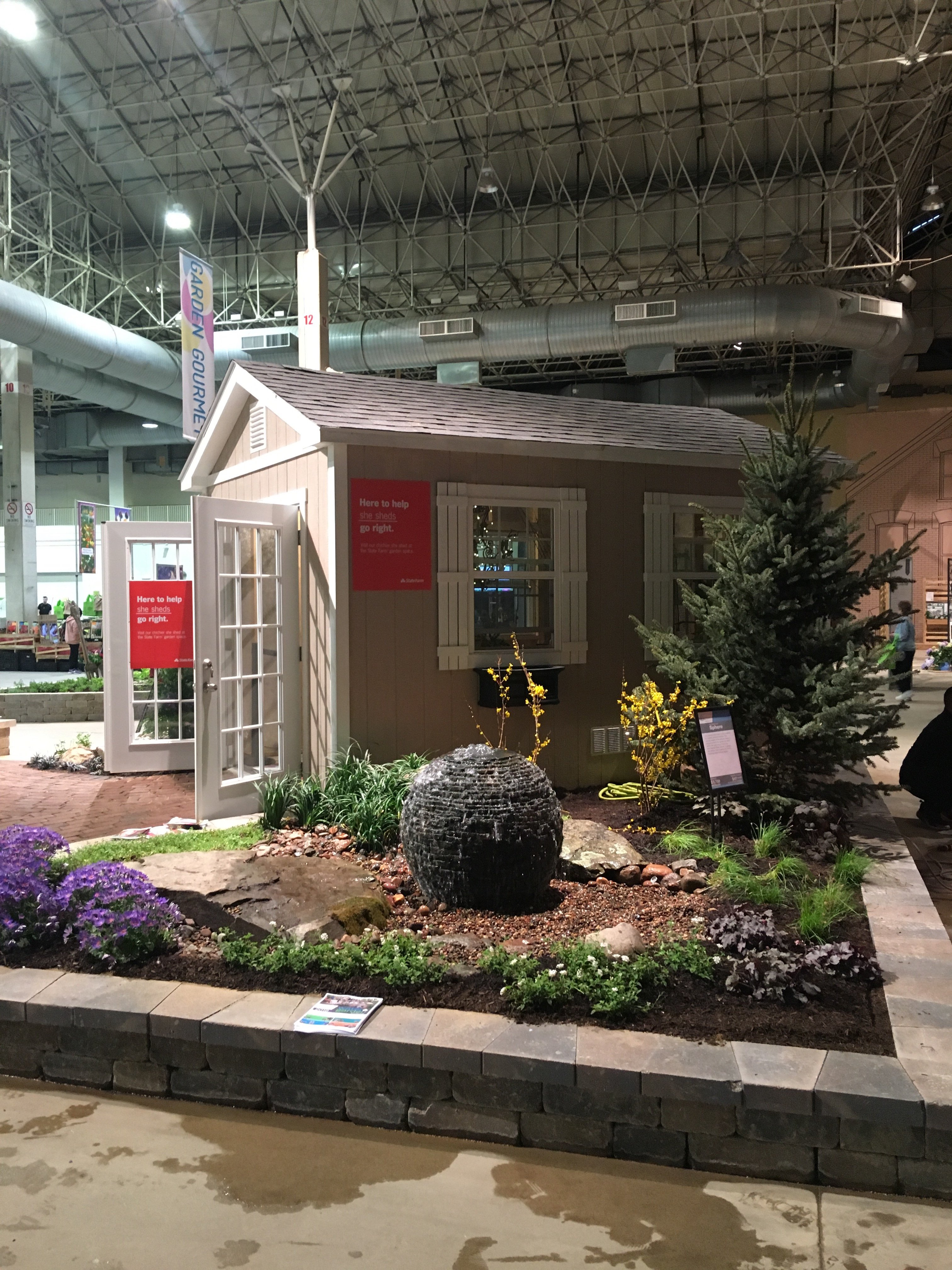 Getting Creative At The Home Show Tuff Shed