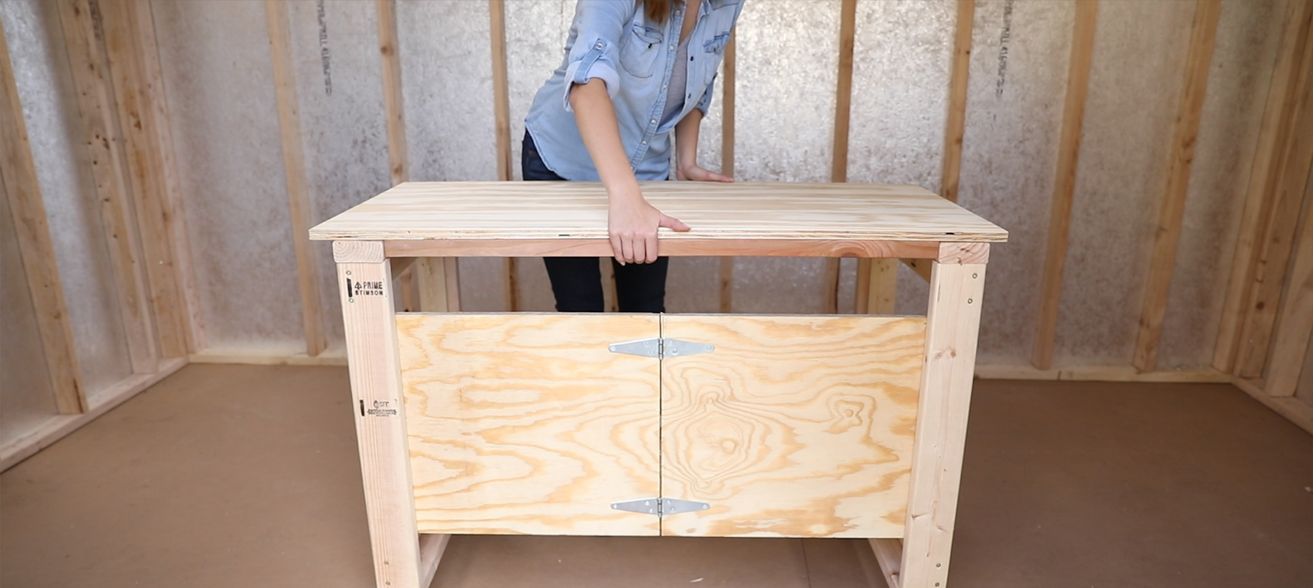 Diy Workshop Foldable Workbench Tuff Shed